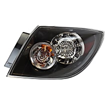 Passenger Side Tail Light, With bulb(s) - Clear Lens, Hatchback