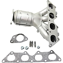 Front Catalytic Converter with Integrated Exhaust Manifold For Models with 2.0L Eng 46-State Legal (Cannot ship to CA, CO, NY or ME)