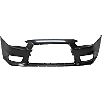 Rear Bumper Cover Compatible with MITSUBISHI LANCER 2008-2017 Primed