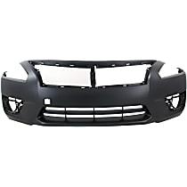 Front Bumper Cover, Primed - Sedan