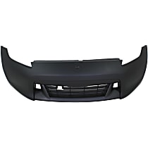 Front Bumper Cover, Primed, Coupe/Convertible - Fits Base/Touring Models, CAPA CERTIFIED