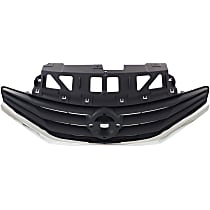 Grille Assembly - Gray Shell and Insert, Except SR Model