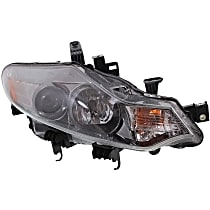 Passenger Side Headlight, With bulb(s) - Except CrossCabriolet Model