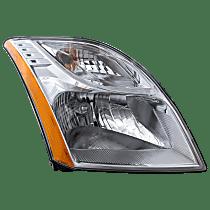 Passenger Side Headlight, With bulb(s) - 10-12 Sentra (Base/S/SL Model)