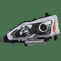 Sedan, Driver Side Headlight, With bulb(s)