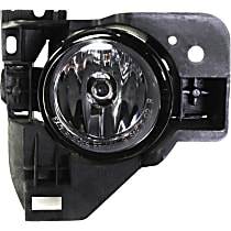 Fog Light Assembly - Passenger Side, with Mounting Bracket