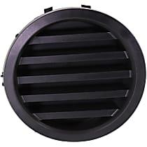 Passenger Side Fog Light Cover, Black