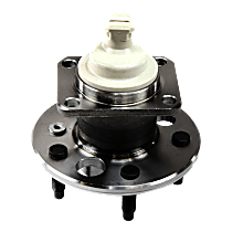 Rear, Driver or Passenger Side Wheel Hub and Bearing Assembly, For FWD Models with 4-Wheel ABS