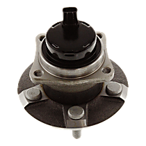 Rear, Driver or Passenger Side Wheel Hub And Bearing Assembly, For FWD, 4-Wheel ABS