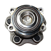 Rear, Driver or Passenger Side Wheel Hub And Bearing Assembly, For FWD