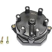 Replacement REPN314106 Distributor Cap - Black, Direct Fit, Sold individually
