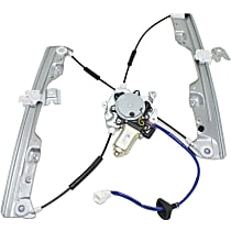 Front, Driver Side Power Window Regulator, With Motor - 2003-2007 Nissan Murano