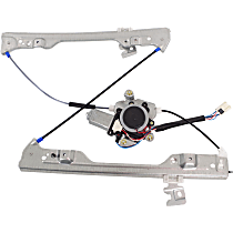 Front, Passenger Side Power Window Regulator, With Motor - Fits 2002-2006 Altima SE/SE-R/SL Models