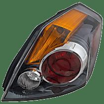 Sedan, Passenger Side Tail Light, With bulb(s)
