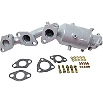 Front Passenger Side Catalytic Converter with Integrated Exhaust Manifold For Models with 3.3L Eng 46-State Legal (Cannot ship to CA, CO, NY or ME)