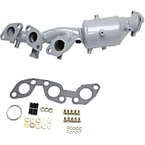 Front Driver Side Catalytic Converter with Integrated Exhaust Manifold For Models with 3.3L Eng 46-State Legal (Cannot ship to CA, CO, NY or ME)