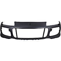 Front Bumper Cover, Primed - w/ Park Sensor & Headlight Washer Holes, Fits GTS Model