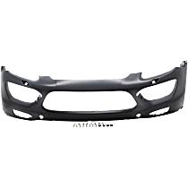 Front Bumper Cover, Primed - w/o Park Sensor Holes, Fits GTS Model