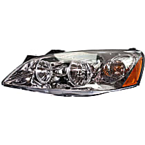 Driver Side Headlight, With bulb(s) - Models With CTF Package