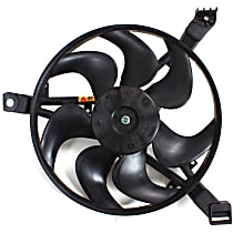 OE Replacement A/C Condenser Fan - Fits 3.1/3.8L, Passenger Side