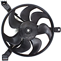 OE Replacement Radiator Fan - Fits 3.1/3.8L, Driver Side