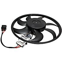 OE Replacement Radiator Fan - w/o Tow Pckg., Passenger Side