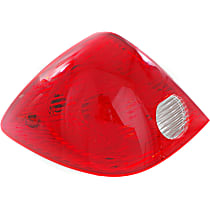 Driver Side Tail Light, With bulb(s) - 2010-2010 Pontiac G6