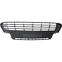 CAPA Certified Center, Lower Bumper Grille, Textured Gray