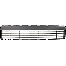 Lower Bumper Grille, Textured Gray