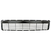 Lower Bumper Grille, Black