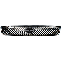 Grille Assembly - Textured Black Shell and Insert