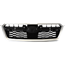 Grille Assembly - Silver Shell with Black Insert, Except WRX Models