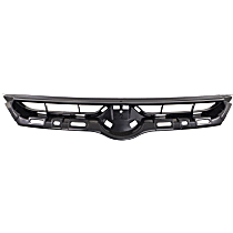Grille Assembly - Textured Black Shell and Insert, CAPA Certified