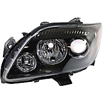 Driver Side Headlight, Without bulb(s) - Models Without Base Package