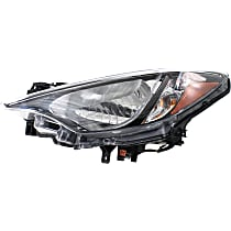 Driver Side Headlight, With bulb(s) - (Base/L/LE/Premium Model), Sedan