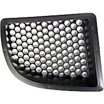 Passenger Side Fog Light Cover, Textured Black