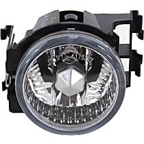 Fog Light Lens and Housing - Driver Side