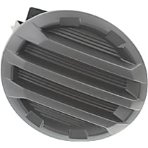 Passenger Side Fog Light Cover, Black