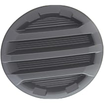 Driver Side Fog Light Cover, Black