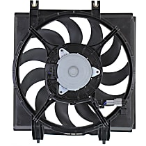 OE Replacement A/C Condenser Fan - Passenger Side