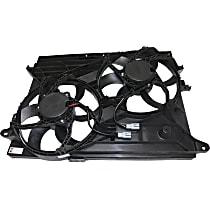 OE Replacement Radiator Fan - Dual Fan, Except Hybrid
