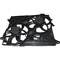 OE Replacement Radiator Fan - Dual Fan, Except Hybrid