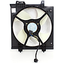 OE Replacement A/C Condenser Fan - Fits 2.5L, Passenger Side
