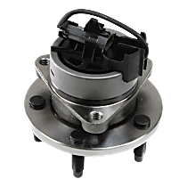 Front, Driver or Passenger Side Wheel Hub And Bearing Assembly, For 4-Wheel ABS, 5 Lugs Sport Suspension