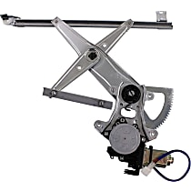 Window Regulator - Front, Driver Side, Power with Motor