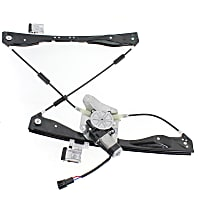 Front, Passenger Side Power Window Regulator, With Motor - Excludes 2008 Classic models