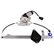 A-Premium Power Window Regulator with Motor Compatible with Subaru Forester 2008-2013 Rear Left