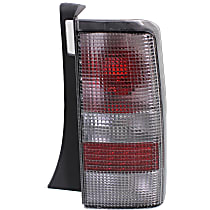 Passenger Side Tail Light, Without bulb(s) - Clear Lens