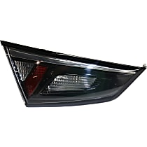 Driver Side, Inner Tail Light, With bulb(s) - Clear, Red & Smoked Lens