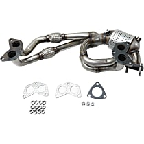 Front Catalytic Converter with Integrated Exhaust Manifold For Models with 2.5L Eng 46-State Legal (Cannot ship to CA, CO, NY or ME)